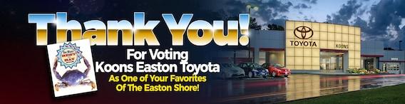 Koons Easton Toyota: Toyota Dealership In Easton Serving
