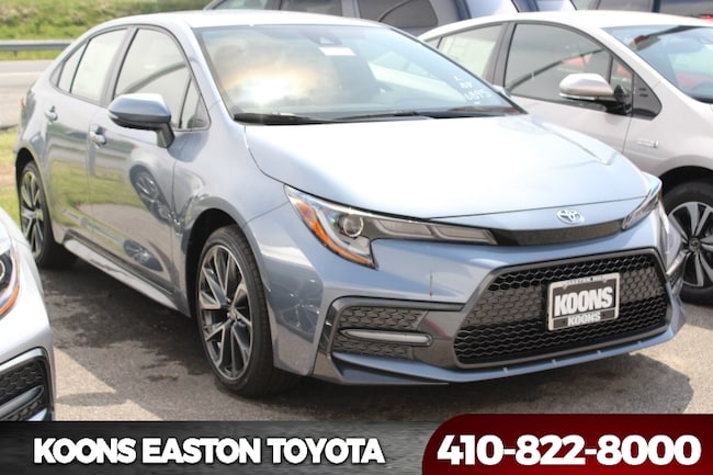 New 2020 Toyota Corolla SE Sedan in Easton, MD