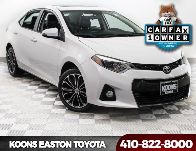 Koons Toyota Easton >> Used Car, Truck & SUV Specials In Talbot County At Koons Easton Toyota