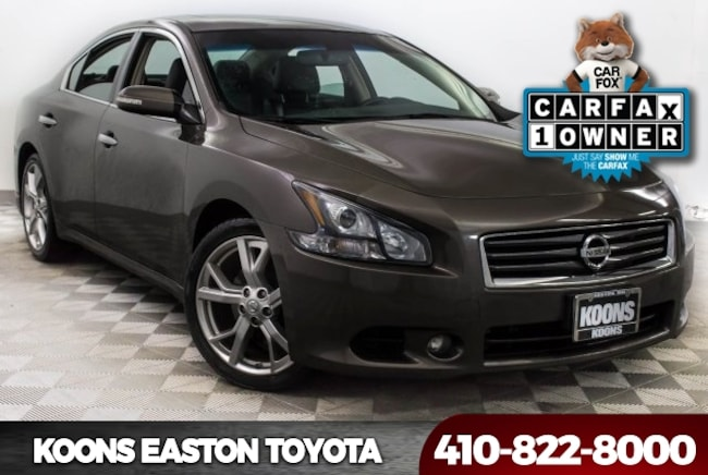 Used 2012 Nissan Maxima 3.5 SV Sedan in Easton, MD