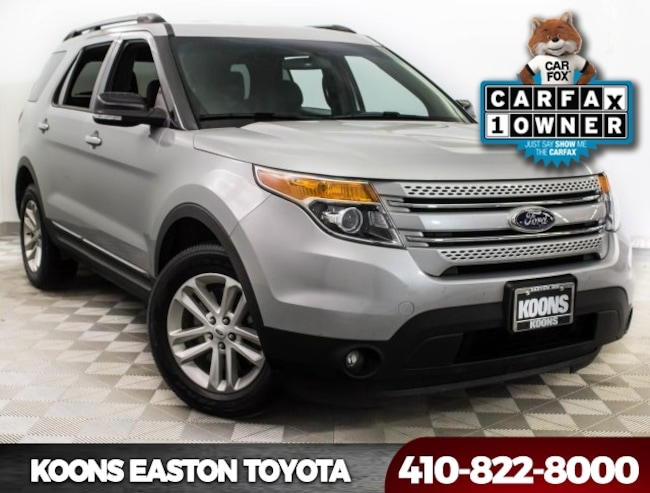 Used 2015 Ford Explorer XLT SUV in Easton, MD