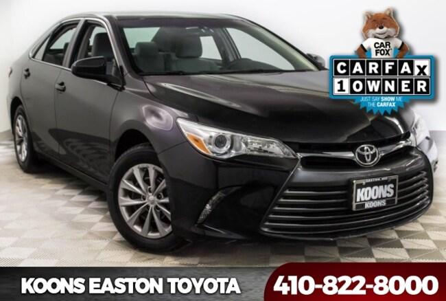 Used 2016 Toyota Camry LE Sedan in Easton, MD