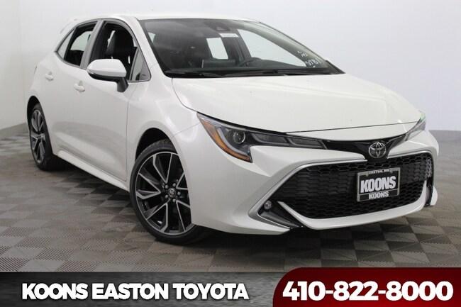 New 2019 Toyota Corolla Hatchback XSE Hatchback in Easton, MD