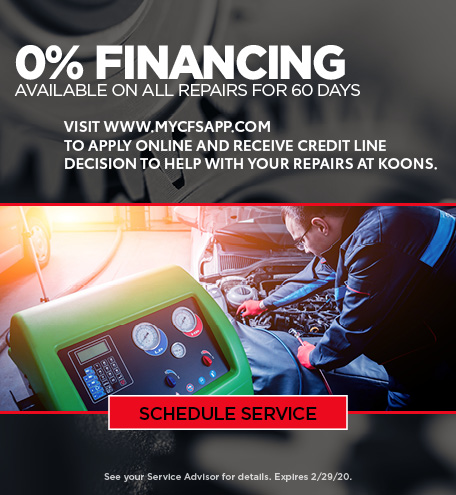 0% Financing Offer - January