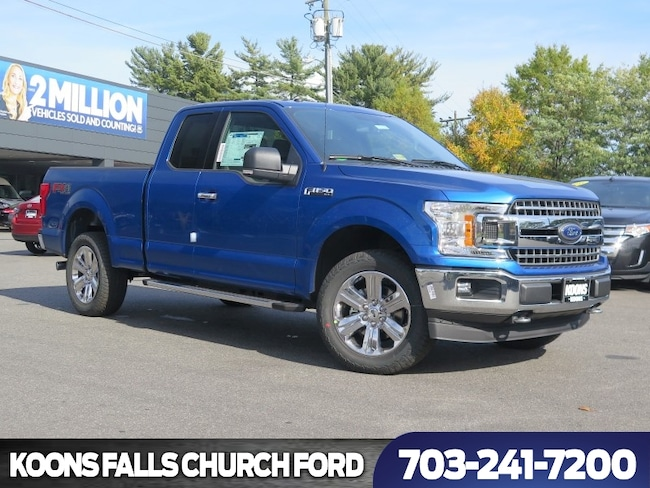 New 2018 Ford F-150 XLT Truck SuperCab Styleside in Baltimore