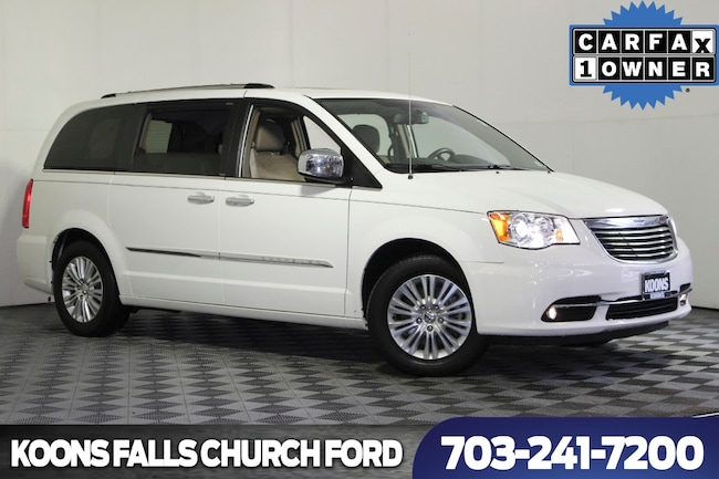 Used 2012 Chrysler Town&Cntry Limited Mini-Van near Washington DC