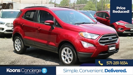 2018 Ford EcoSport SE **Bluetooth**sunroof/moonroof**rear camera**