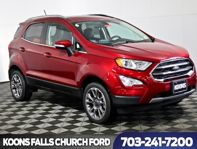 New 2018 Ford EcoSport Titanium SUV in Baltimore