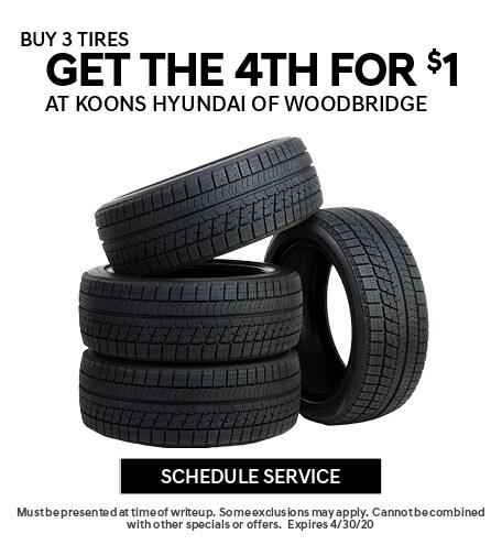 April 2020 Tire Offer - Hyundai