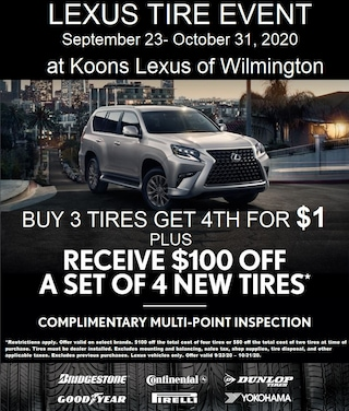 Lexus Tire Offer