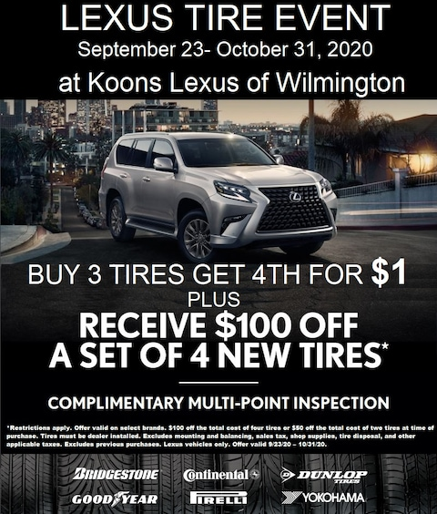 Lexus Tire Offer