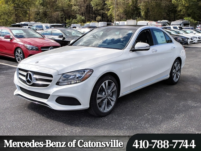 new 2018 mercedes-benz c-class c 300 for sale in baltimore md | vin