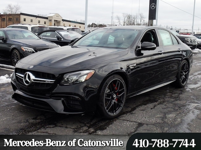 New 2019 Mercedes-Benz AMG E 63 S 4MATIC Sedan in Baltimore