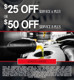 Jan Oil Change Special