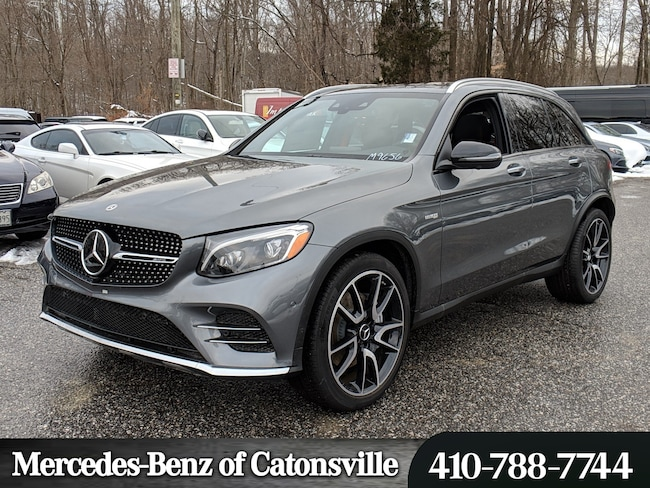 Mercedes Benz Suvs >> New 2019 Mercedes Benz Amg Glc 43 4matic For Sale In Baltimore Md