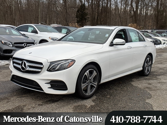 New 2019 Mercedes-Benz E-Class E 300 4MATIC Sedan in Baltimore