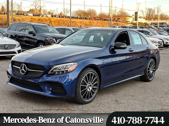 New Mercedes Benz >> New 2019 Mercedes Benz C Class C 300 4matic For Sale In Baltimore Md