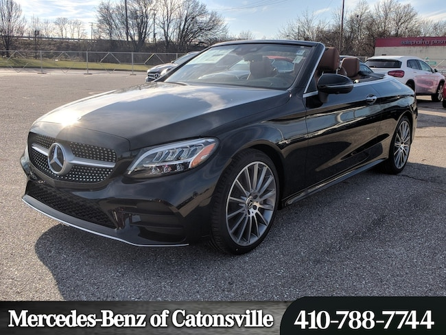New 2019 Mercedes Benz C Class C 300 For Sale In Baltimore Md Vin