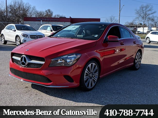 New 2019 Mercedes-Benz CLA 250 4MATIC Coupe in Baltimore