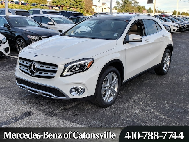 New 2019 Mercedes Benz Gla 250 For Sale In Baltimore Md Vin