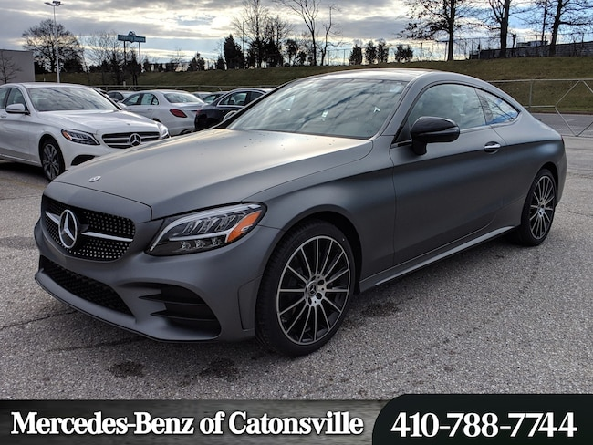 New 2019 Mercedes-Benz C-Class C 300 4MATIC Coupe in Baltimore