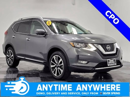 Featured pre-owned luxury vehicles 2019 Nissan Rogue SL AWD SL for sale near you in Silver Spring, MD