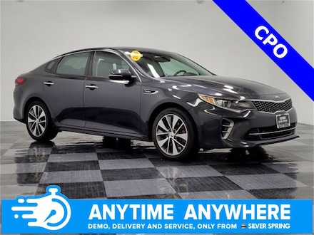 Featured pre-owned luxury vehicles 2016 Kia Optima SX Turbo Sedan for sale near you in Silver Spring, MD