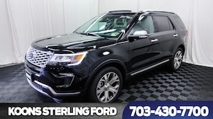 2018 Ford Explorer Platinum 4WD SUV