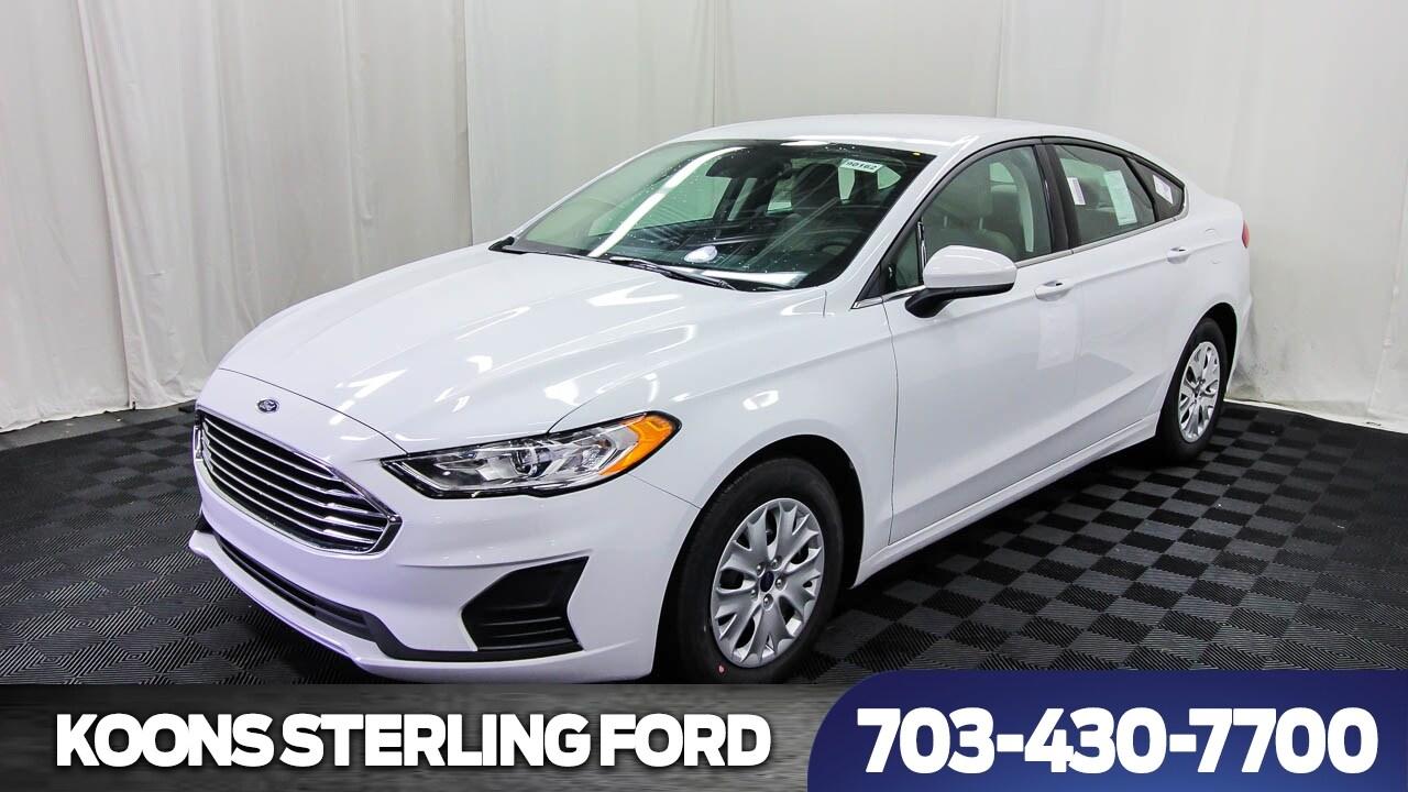 2019 Ford Fusion S 4dr Sedan