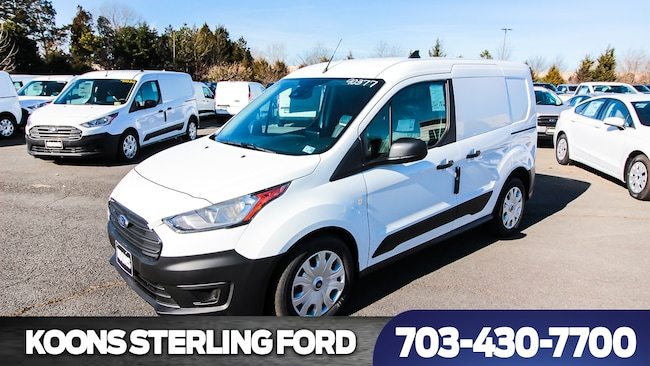 2019 Ford Transit Connect Cargo Van SWB XL Swing-Out Rear Cargo Doors Van