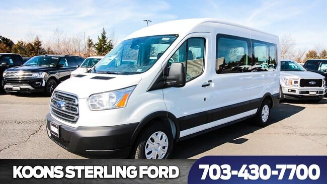 bbfc7c3ac3 2019 Ford Transit-350 LWB Medium Roof XLT Passenger Van For Sale ...
