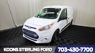 2018 Ford Transit Connect Cargo Van LWB XLT Swing-Out Rear Cargo Doors Van