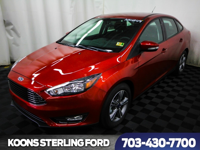 2018 Ford Focus SE 4dr Sedan