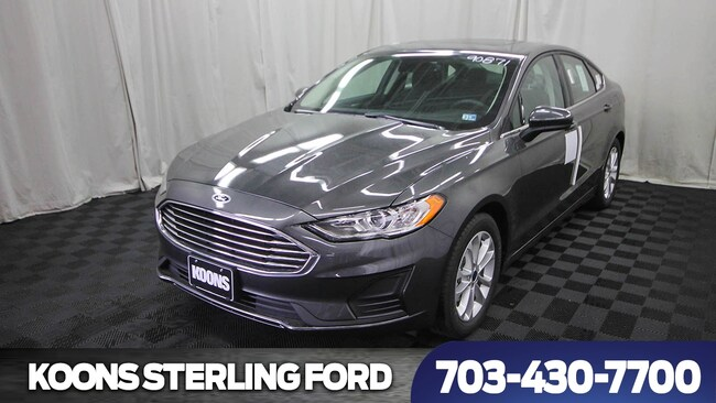 New 2019 Ford Fusion SE 4dr Sedan Sedan in Baltimore