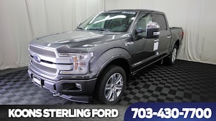 2018 Ford F-150 Platinum Diesel Truck SuperCrew Cab