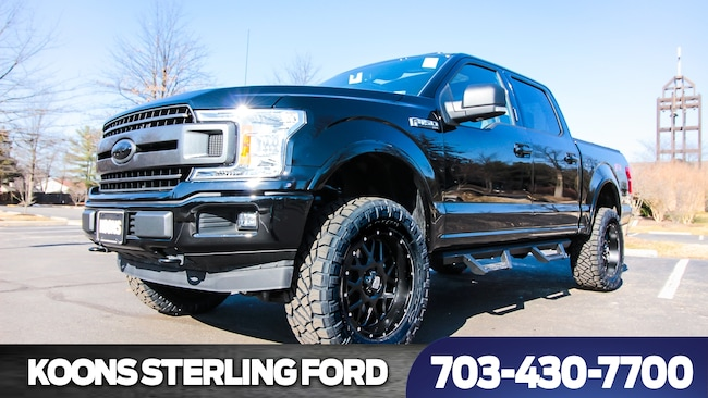 2018 Ford F-150 Outlaw Custom Lifted 4X4 Truck SuperCrew Cab