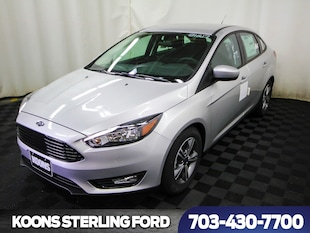 2018 Ford Focus SE 4dr Sedan Sedan
