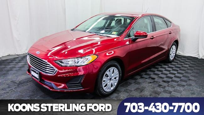 2019 Ford Fusion S 4dr Sedan Sedan