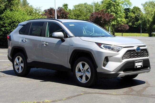 New 2019 Toyota RAV4 Hybrid Limited SUV in Vienna, VA