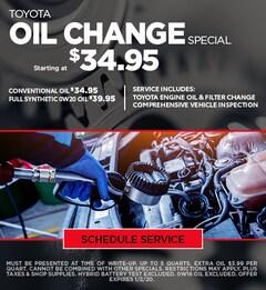 December Oil Change Special