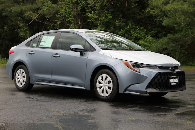 New 2020 Toyota Corolla L Sedan in Easton, MD