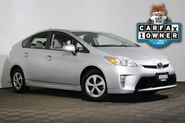Used 2012 Toyota Prius TWO Hatchback in Vienna, VA