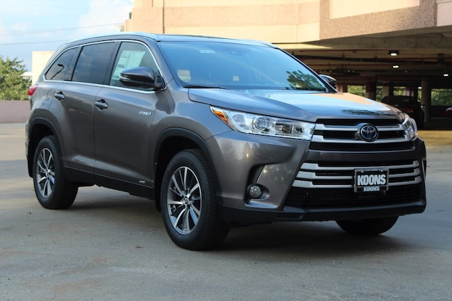 New 2019 Toyota Highlander Hybrid XLE V6 SUV in Easton, MD