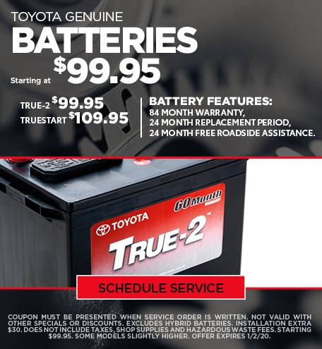 December Battery Special