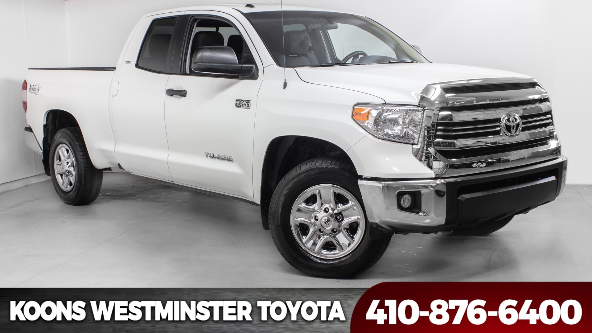 2016 Toyota Tundra SR5 4WD Truck Double Cab