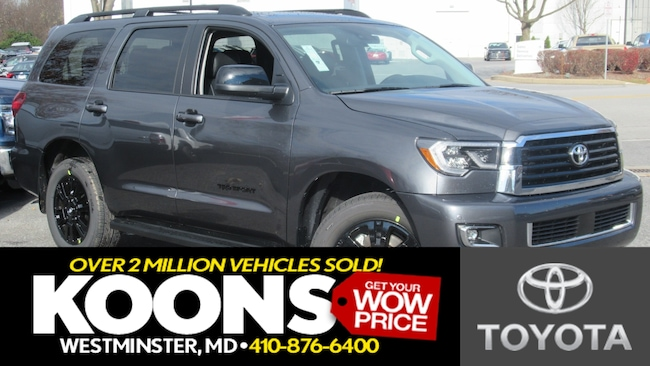 New 2019 Toyota Sequoia TRD Sport SUV in Arlington
