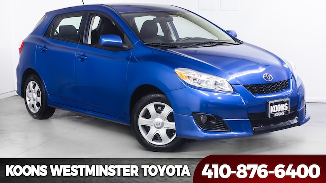 Used 2010 Toyota Matrix Sport For Sale In Westminster Md Vin