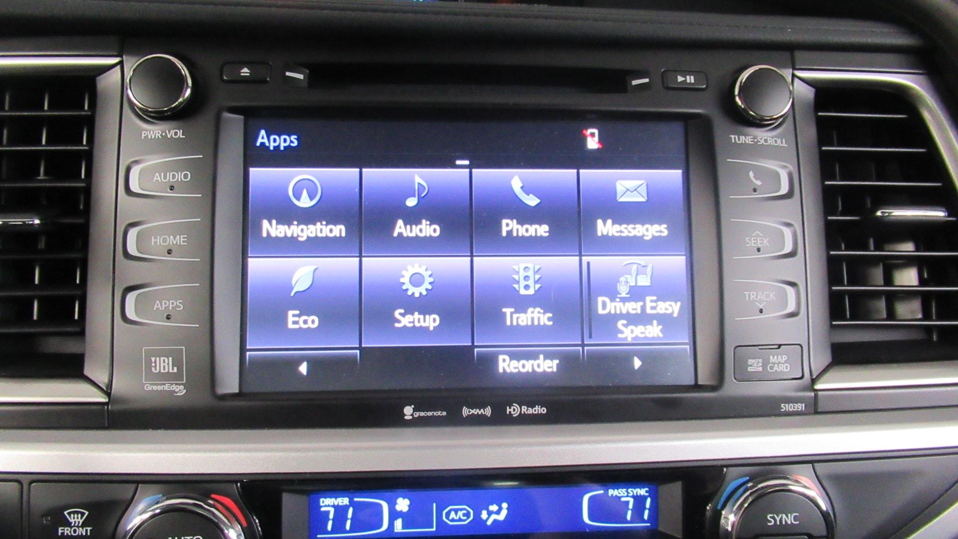 New 2019 Toyota Highlander Limited Platinum V6 For Sale in