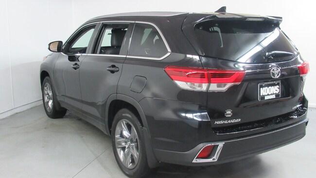 2019 Toyota Highlander Limited Platinum V6 For Sale
