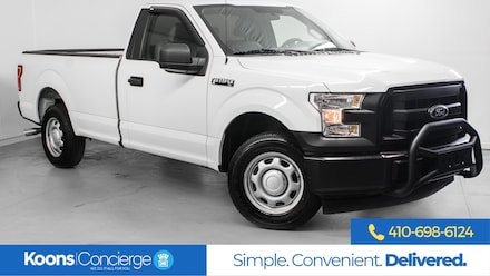 2017 Ford F-150 XL Long Bed Truck Regular Cab